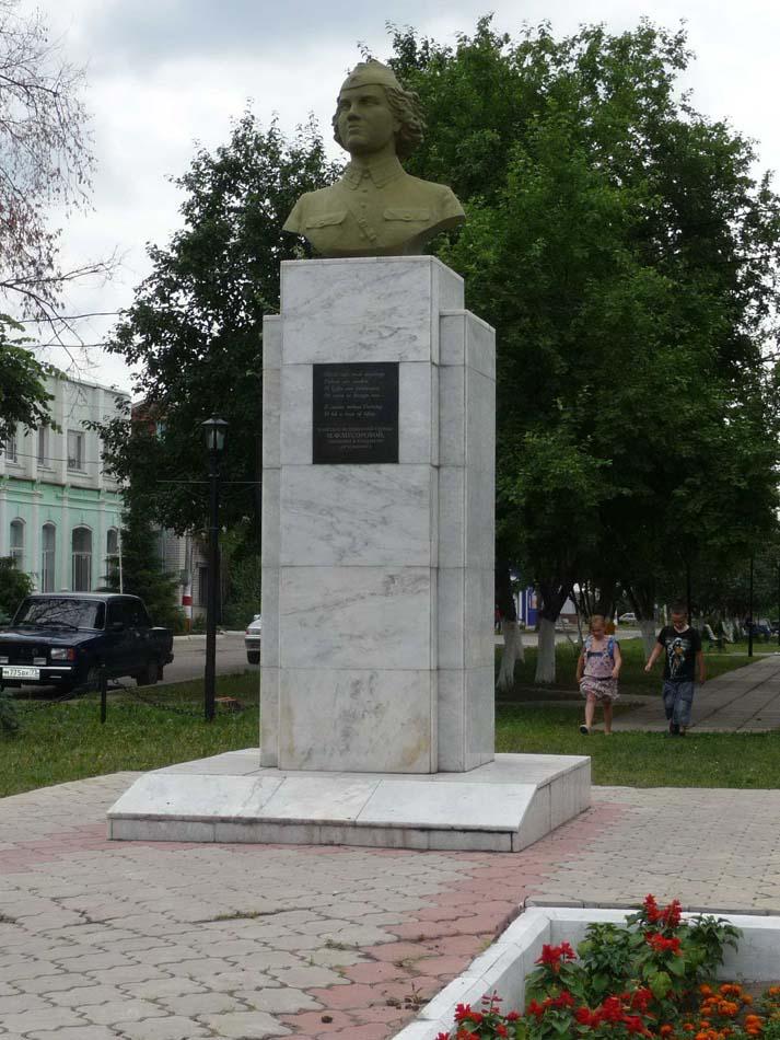Бюст Марии Мусоровой